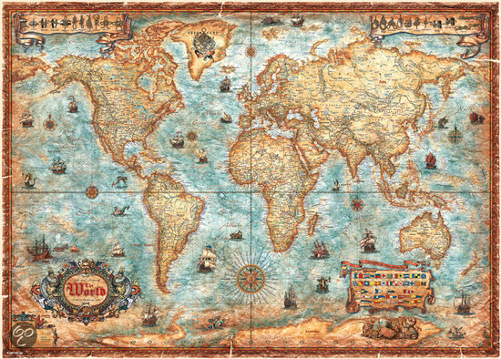 The world - Legpuzzel - 3000 Stukjes