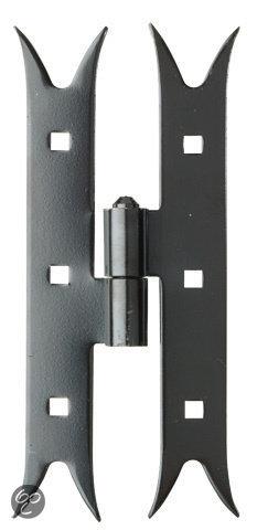 GAH Alberts Beslag Luikscharnier Hoogte 180 mm