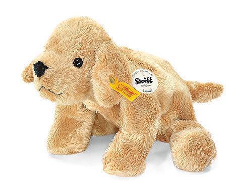 kleine golden retriever puppy lumpi beige steiff speelgoed. Black Bedroom Furniture Sets. Home Design Ideas
