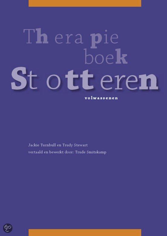 Therapieboek Stotteren / Volwassenen
