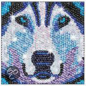 Sequin Art Zoom Husky