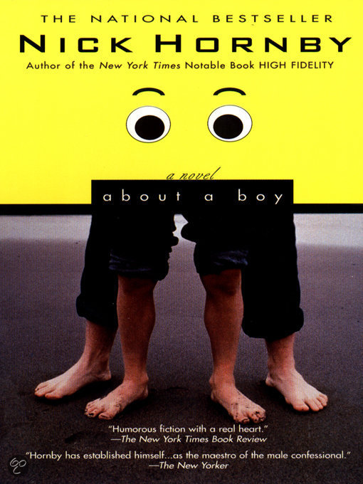 boy nick hornby essay Essay writing guide learn conflict on one's self identity through the interactions of the novel 'about a boy' by nick hornby and are explored to demonstrate.