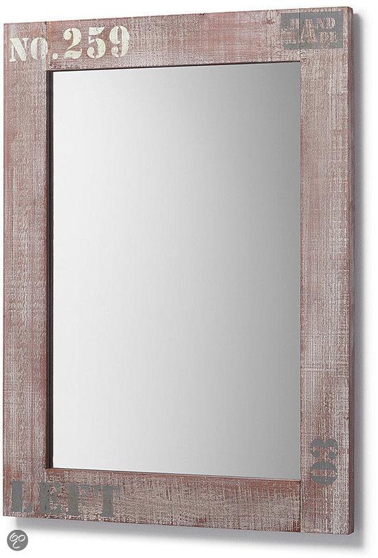 Laforma spiegel nature grijs met betonlook gecombineerd wonen - Spiegel cm ...