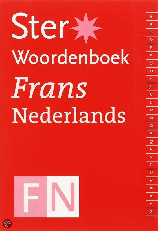 Ster Woordenboek Frans-Nederlands