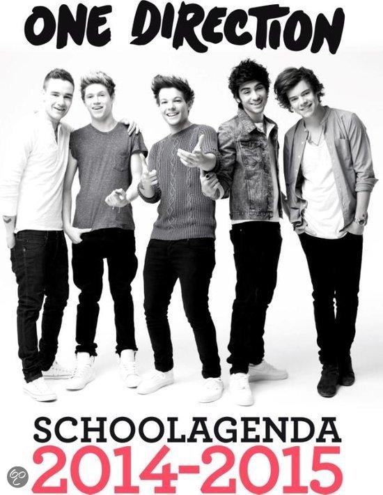 One Direction schoolagenda / 2014-2015