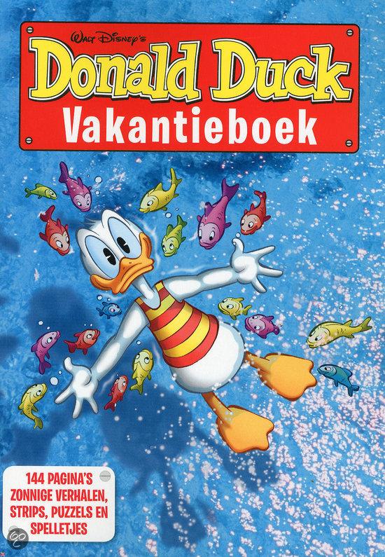 Donald Duck vakantieboek 2012
