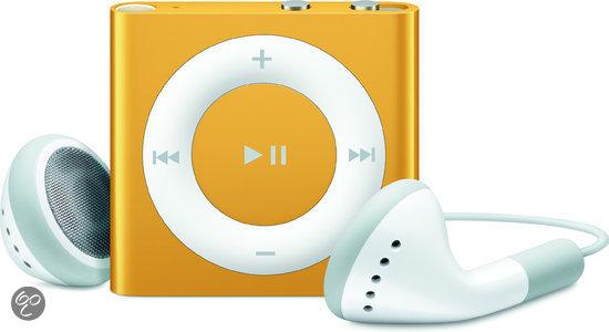 Apple iPod shuffle 2 GB - Oranje