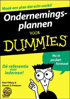 Ondernemingsplan voor Dummies