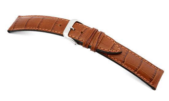 Rios1931 Horlogeband -  Louisiana Cognac - Leer - 16 mm
