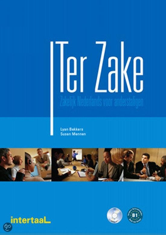 Ter Zake - zakelijk Nederlands voor anderstaligen