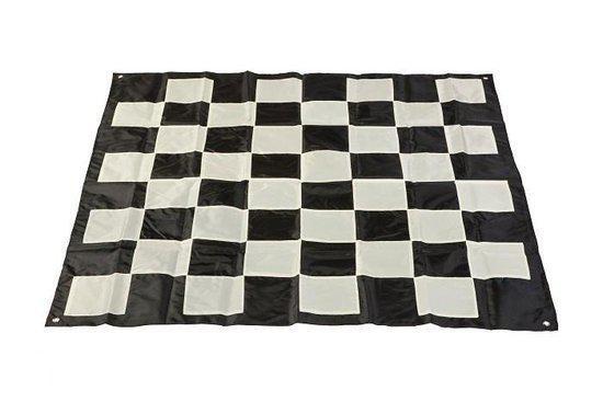 Afbeelding van het spel Tuin Schaken XXXL Schaakmat - 262x262 cm - Nylon