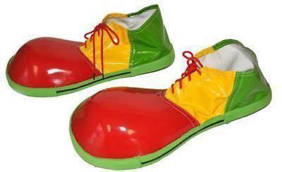 Chaussures Jaunes Clown Avec Rouge YusQv