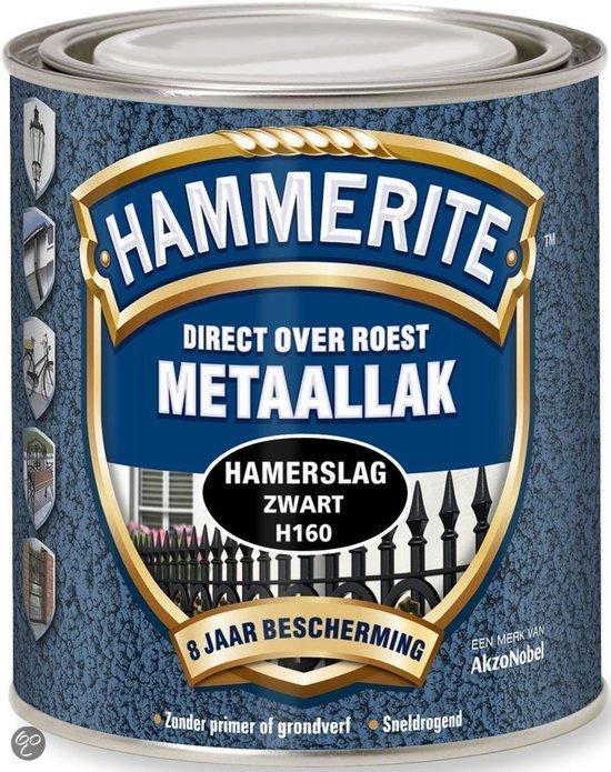 bol.com | Hammerite Hamerslag Zwart 2.5L