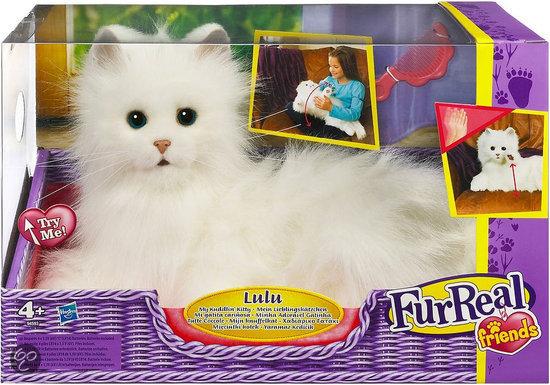 Bol Com Fur Real Friends Lulu De Kat Hasbro Speelgoed