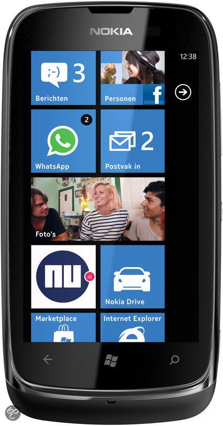 Nokia Lumia 610 - Zwart