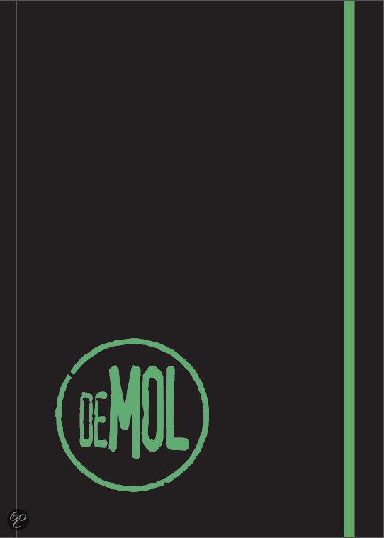 Wie is de mol / molboekje 2014