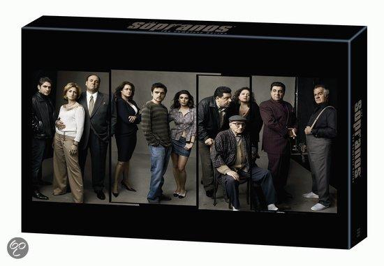 Sopranos - Seizoen 1 t/m 6 Complete Collection (30DVD)