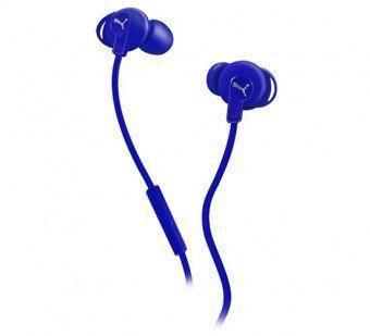 Puma - Bulldogs In-ear oordopjes & Mic koptelefoon - Smartphone-Blauw kopen