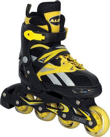 Inline Skates 34-37 Zwart/Geel