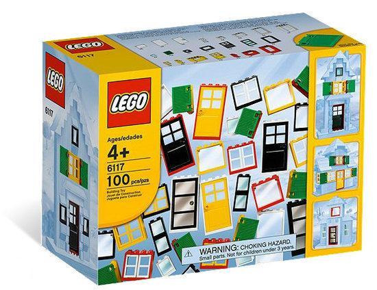 Lego ramen en deuren 6117