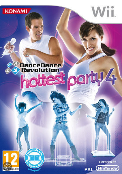 Dance Dance Revolution: Hottest Party 4 + Dance Mat
