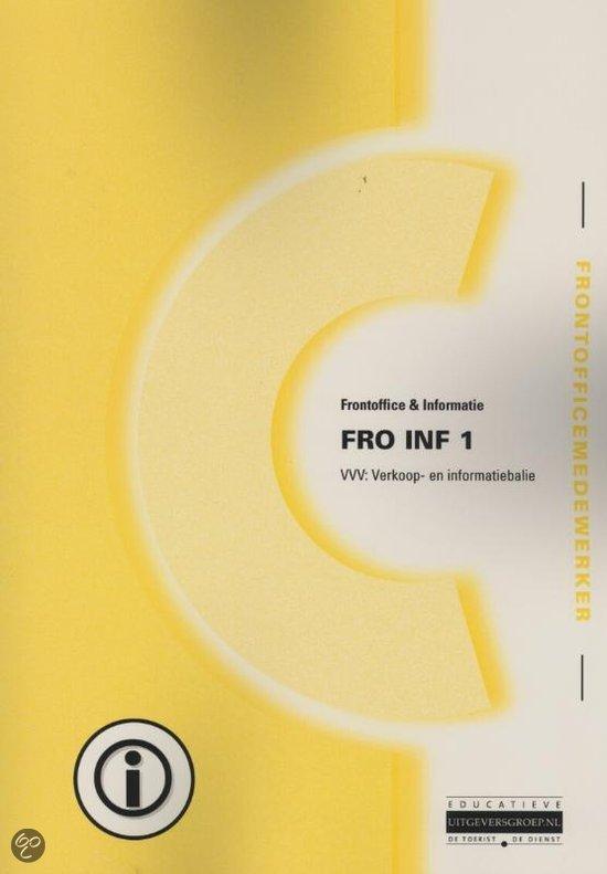 FRO INF / 1 VVV verkoop-en informatiebalie