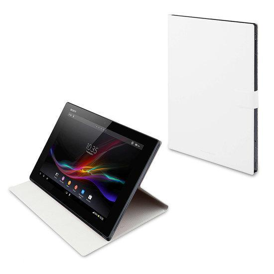 Book Case Sony Xperia Tablet Z White .