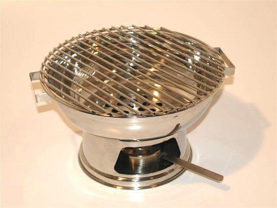 Voccelli Houtskoolbarbecue - Tafel - Ø 24 cm