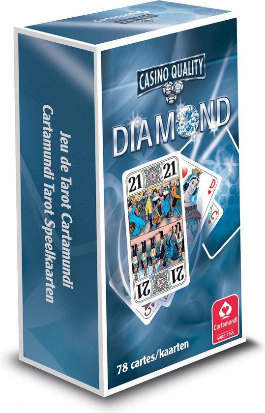 Afbeelding van het spel Diamond Tarot Rood  & Blauw (Blister)