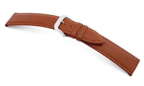 Rios1931 Horlogeband -  Toscana Cognac - Leer - 20 mm