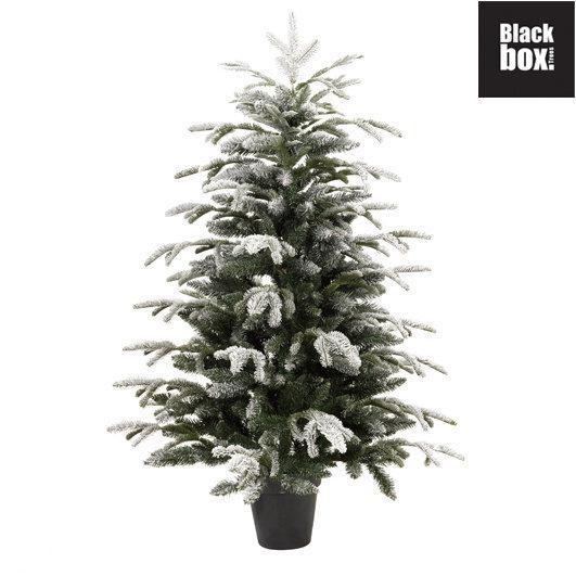 bol.com | Black Box - Kunstkerstboom POTTED FROSTED STELTON FIR ...