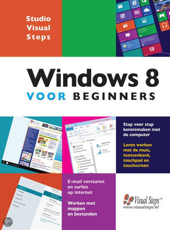 Cursusboek windows 8 voor beginners