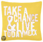 Mexx Today Cushion Geel - 40 X 40cm
