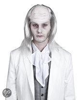 Halloween Pruik White zombie