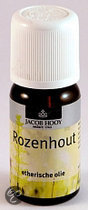 Jacob Hooy Rozehout - 10 ml - Etherische Olie
