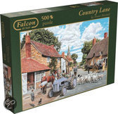 Jumbo Falcon Country Lane puzzel 500 stukjes