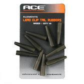 Ace Lead Clip Tail Rubbers Weed (ACC112)
