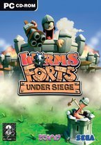 Worms-Forts Under Siege