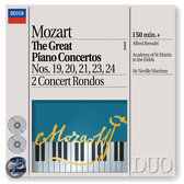 Mozart: The Great Piano Concertos Vol 1 / Brendel, Marriner