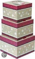 IHR Noel Noel Kerst - Set van 3 Dozen