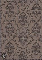 2LIF Aida Taupe Tafelzeil - PVC -  140 x 170 cm