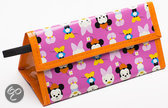 Zak!Designs Minnie Big Face Lunchtas - Roze