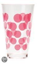 Zak!Designs DotDot Drinkbeker - 30 cl - Roze - Set van 6 stuks