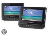 Tristar DV-1823 - Portable DVD-speler met 2 schermen - 7 inch