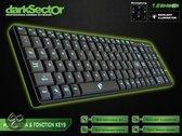 Dragon War Dark Sector Professional Azerty Gaming Toetsenbord - Zwart (PC)