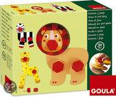 Goula Houten Bouwdoos - Dieren Draai & Speel