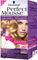 Perfect Mousse 950 Goudblond - Haarverf