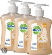 Dettol Voedende - 250 ml -  Anti-bacteriële Wasgel - 3 stuks