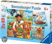 Ravensburger 3-in-1 Puzzel - Piratenavontuur