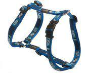 ROGZ FOR DOGS Riem Rogz for dogs armed response tuig indigo bones 25 mm x 60-101 cm